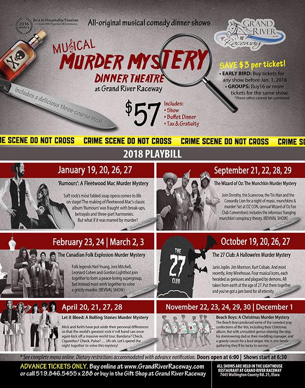 Virginia dinner murder mystery theater theatre troupe